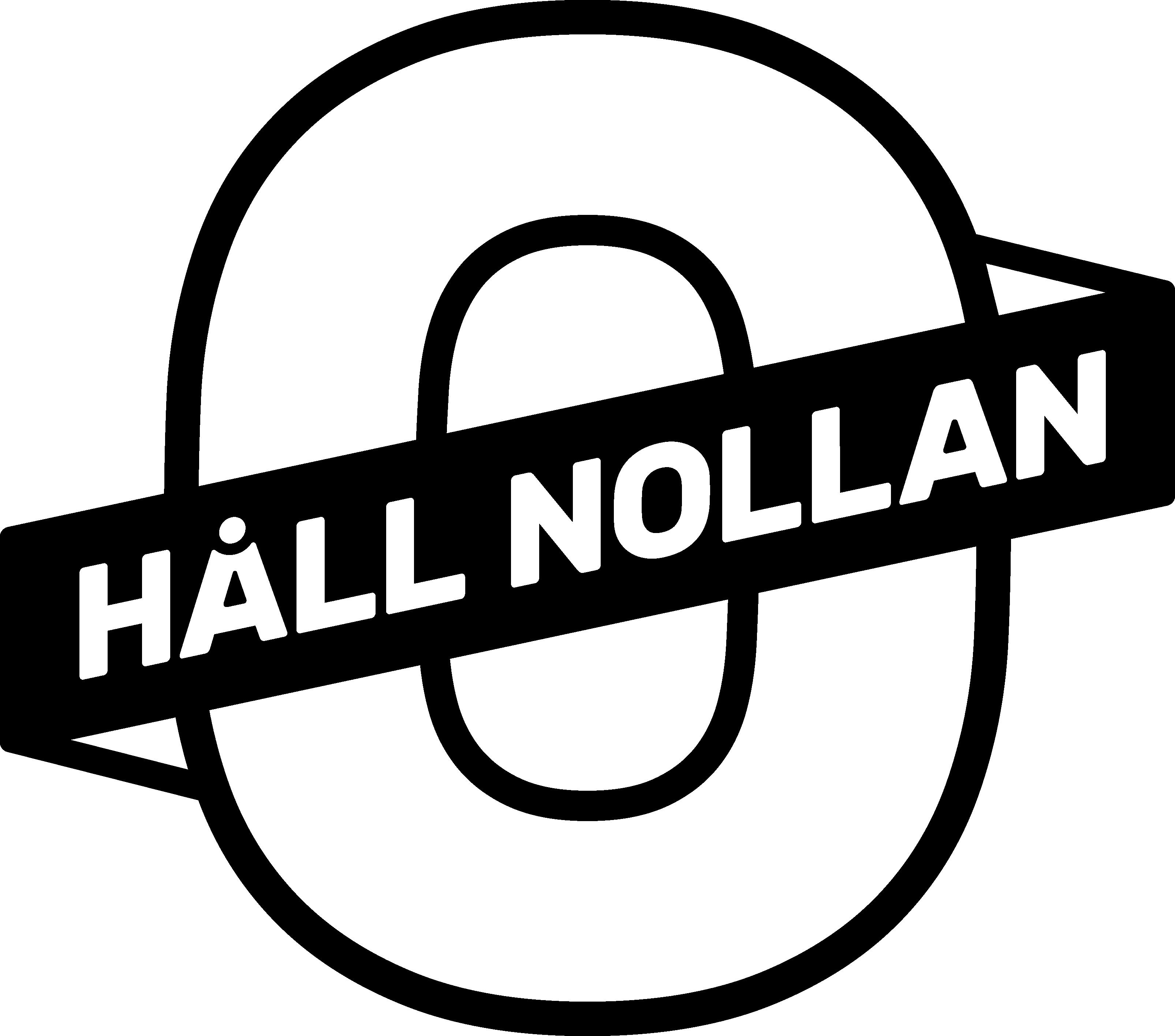 Håll Nollan Logotype
